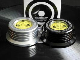 Record weight/platen puck
