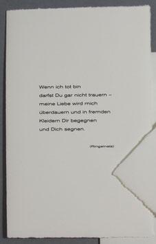 Gedicht Ringelnatz