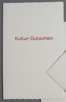 Kultur-Gutschein