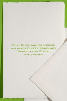 Goethe-Zitat