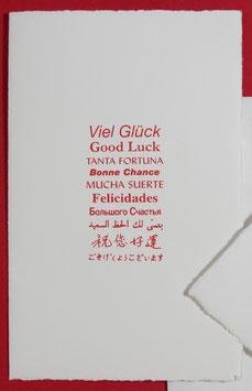 Viel Glück, 10 Sprachen