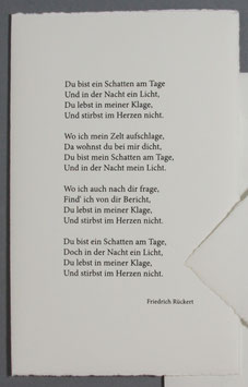 Gedicht Friedrich Rückert