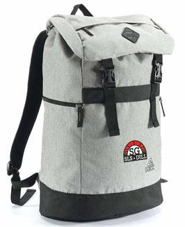 PEAK Backpack Grey mit SG-Logo