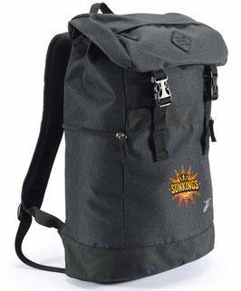 PEAK Backpack Black mit SUNKINGS-Logo