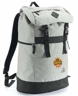 PEAK Backpack Grey mit SUNKINGS-Logo
