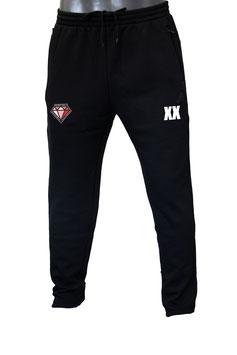 DIAMONDS Sweatpants schwarz mit Logo