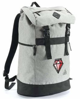 PEAK Backpack Grey mit DIAMONDS-Logo
