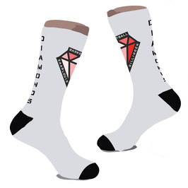 COURTSWAG Socken mit DIAMONDS-Logo und Schriftzug