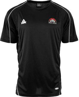 PEAK Shooting Shirt Black mit SG-Logo und Wunschname