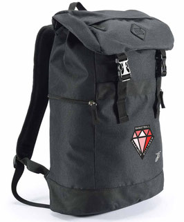 PEAK Backpack Black mit DIAMONDS-Logo