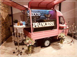 Secco Princess Ape ~ Mobile Secco Bar mieten
