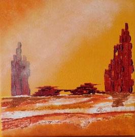 Peinture à l'huile les tours