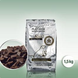 PLATINUM Adult Iberico+Greens, 1,5 kg