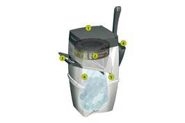 LitterLocker II Entsorgungsbehälter