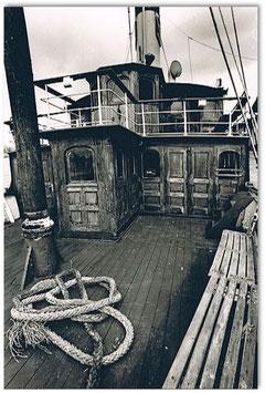 An Deck der Alexandra 1978 von Joachim Metschies