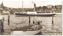 Dampfer ,Albatros* im Flensburger Hafen  1964 von Joachim Metschies
