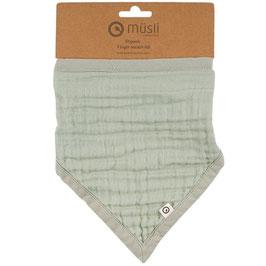 NEU Müsli by Green Cotton Dreieckstuch pale moss