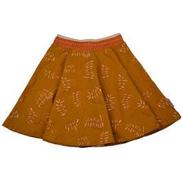 ba*ba Kidswear Tellerrock Blätter ocker