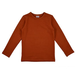 ba*ba Shirt Langarm orange-rost