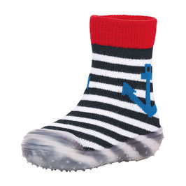 Sterntaler Adventure Socks Anker blau/weiß gestreift