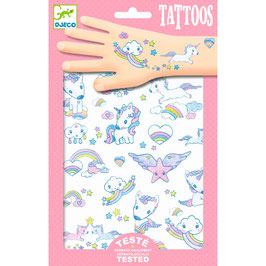"NEU Djeco Tattoos ""Einhörner"""