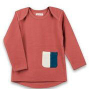Organic by Feldmann Sweatshirt - Play of Colors marsala