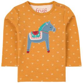 Frugi Shirt Langarm Horse floral ditsy