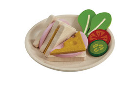 "NEU Plantoys ""Sandwich Set"" 2+ Jahre"