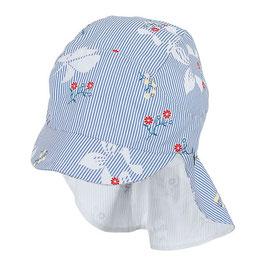 NEU Sterntaler Schirmmütze UV 30 Flapper Blumen himmel