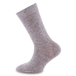 NEU Ewers 1 Paar Socken Uni grau melange