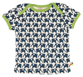 Loud + Proud T-Shirt Elefant marine
