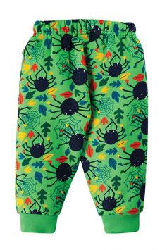 Frugi Sweat Hose Green Spiders