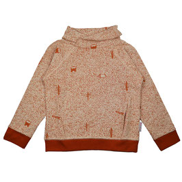 ba*ba Pocket Sweater nature red