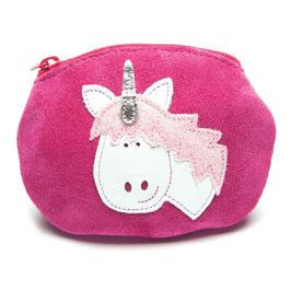 NEU Inch Blue Geldbörse Einhorn pink
