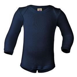 NEU Engel Body Wolle/Seide Langarm navy blue