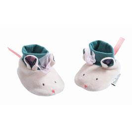 NEU Moulin Roty Babyschüchen Maus
