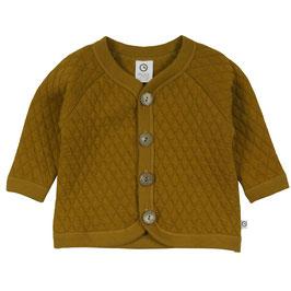 Müsli by Green Cotton Quilt Jacke pesto