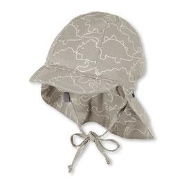 NEU Sterntaler Schirmmütze UV 30 Flapper Dino rauchgrau