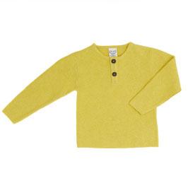 Puri Organic Strick-Pullover lime