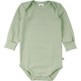 NEU Müsli by Green Cotton Body Langarm pale moss