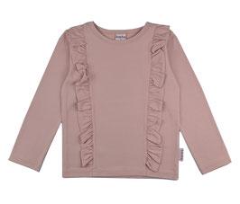 NEU ba*ba Shirt Langarm Rüschen rosa