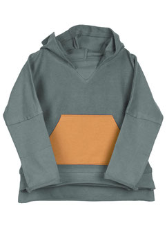 NEU Organic by Feldmann French Terry Hoodie - winter green