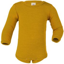 NEU Engel Body Wolle/Seide Langarm safran