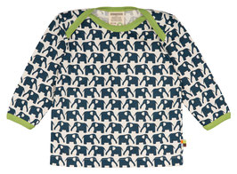 Loud + Proud Shirt Langarm Elefant marine