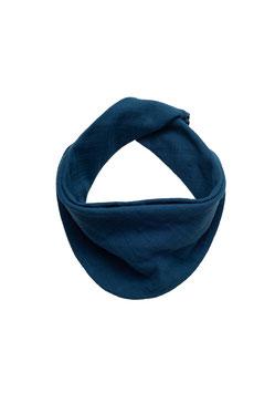 NEU Organic by Feldman Halstuch petrol blue