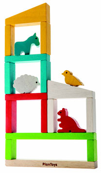 """Plantoys """"Baue einen Zoo"""" 3+ Jahre"""