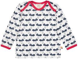 Loud + Proud Shirt Langarm Ameise navy