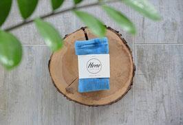 NEU Hene Design Hosenträger Strumpfhose - blau