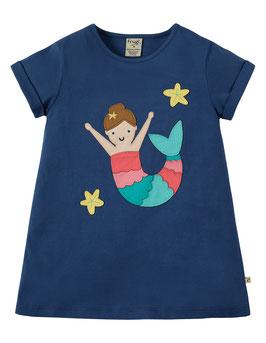 Frugi T-Shirt Meerjungfrau blau