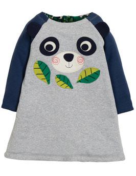 Frugi Wendekleid Panda grau/grün